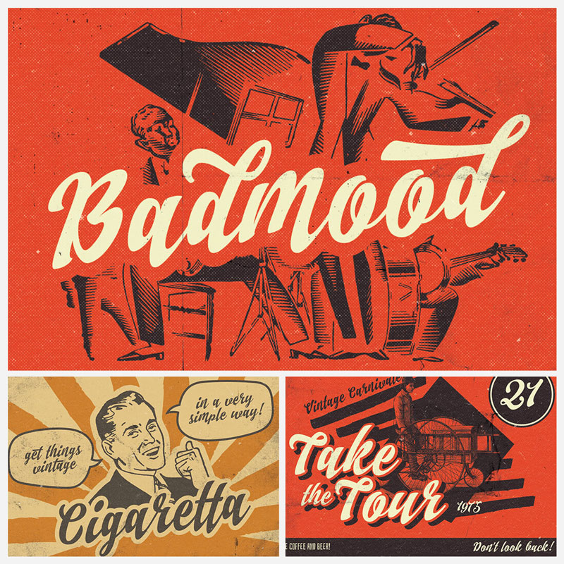 Badmood-Hand-Lettered-Script