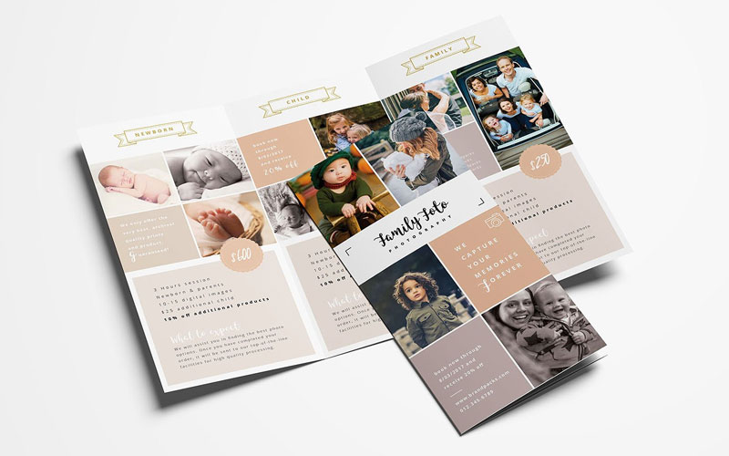 Family-Photographer-Trifold-Brochure