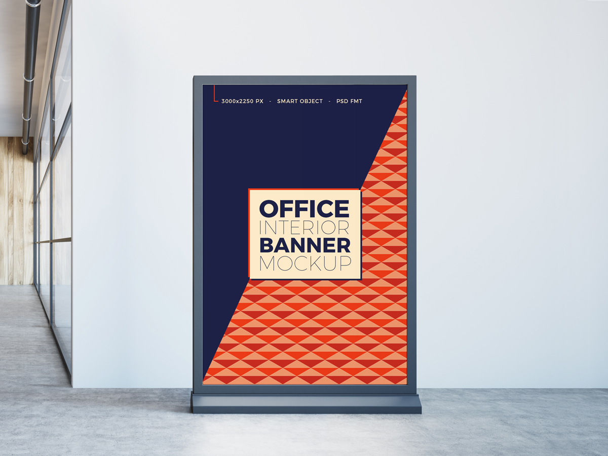 Free-Office-Interior-Banner-Stand-Mockup-PSD