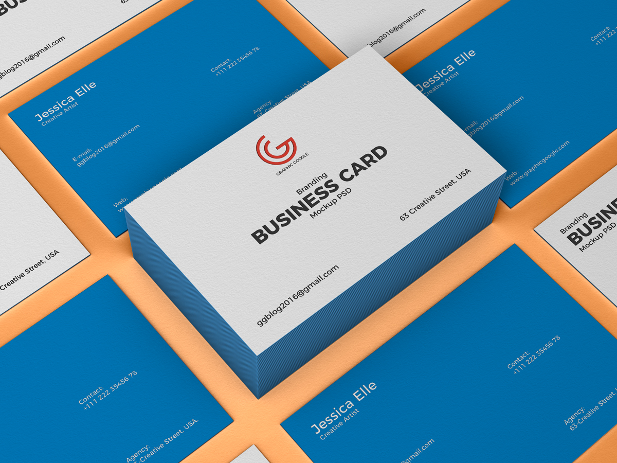 Free-PSD-Branding-Business-Card-Mockup