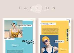 Free Summer Collection Fashion Flyer Templates For 2019