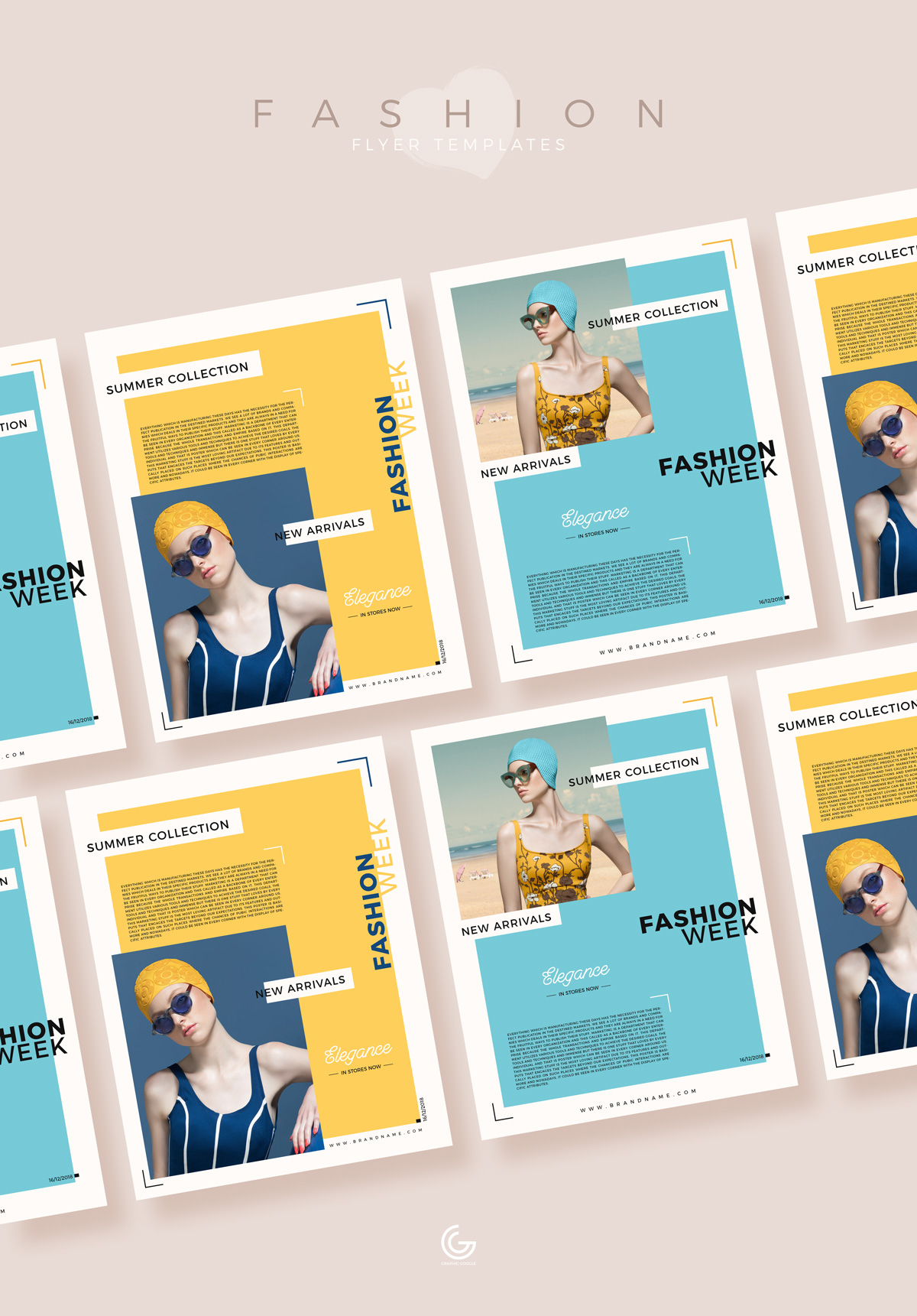 Free-Summer-Collection-Fashion-Flyer-Templates-For-2019-600