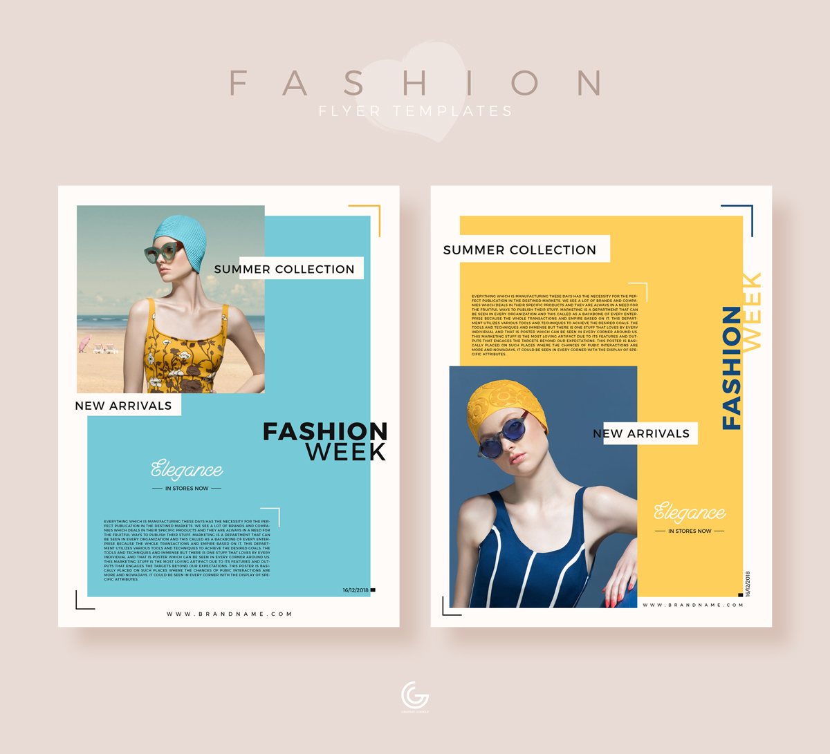 Free-Summer-Collection-Fashion-Flyer-Templates-For-2019