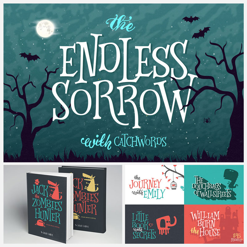 The-Endless-Sorrow-Horror-Font