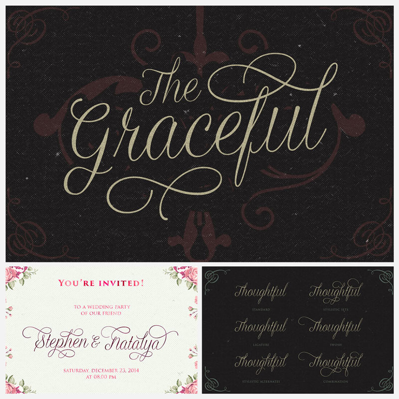 The-Graceful-Script-Typeface