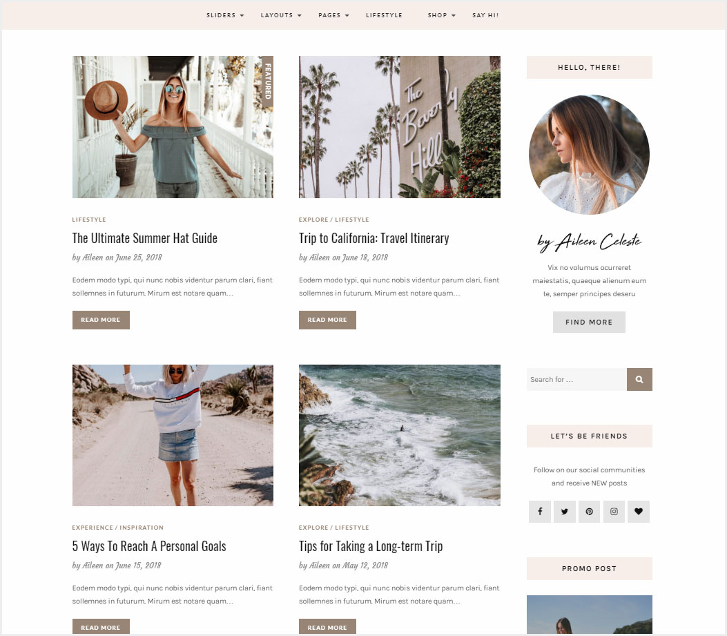 Aileen-A-Personal-Blog-&-Shop-Theme