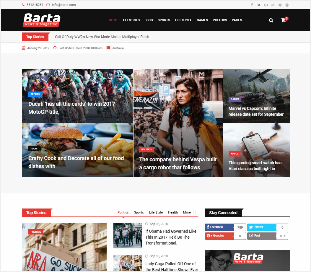Barta-News-&-Magazine-WordPress-Theme