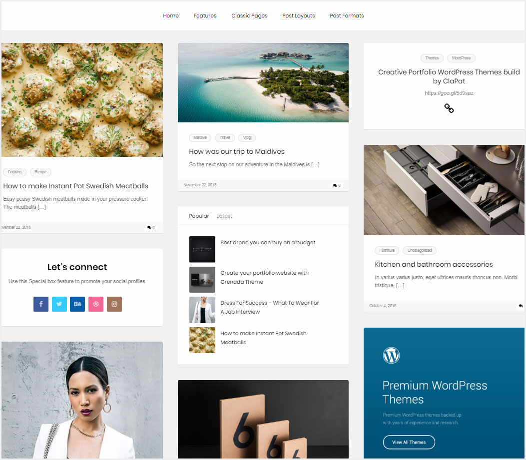 ClaPat-Creative-Masonry-Blog-WordPress-Theme