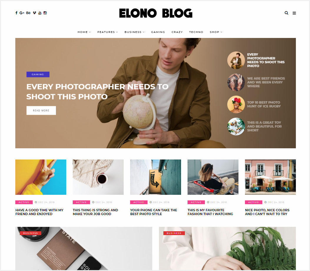 Elono-WordPress-Blog-Magazine-Theme