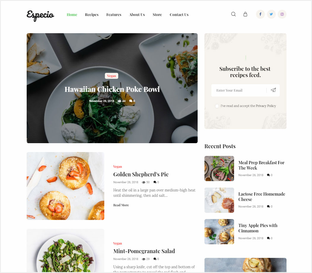 Especio-Gutenberg-Food-Blog-WordPress-Theme