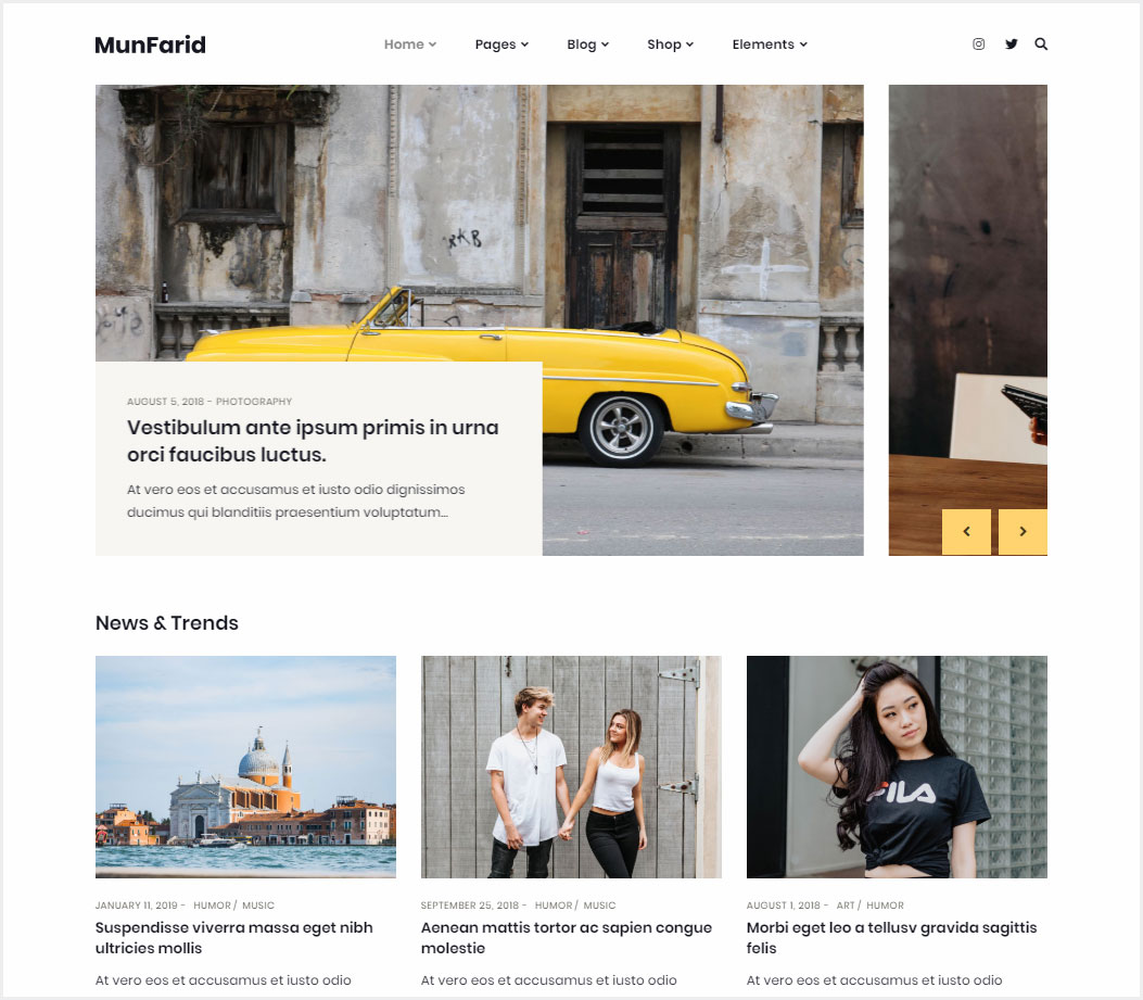 Munfarid-A-WordPress-Theme-For-Blog-&-Shop