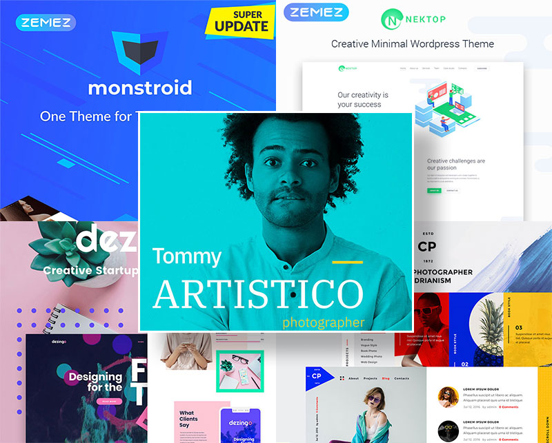 30-Stylish-WordPress-Themes-for-Photographers-&-Designers-for-2019-700