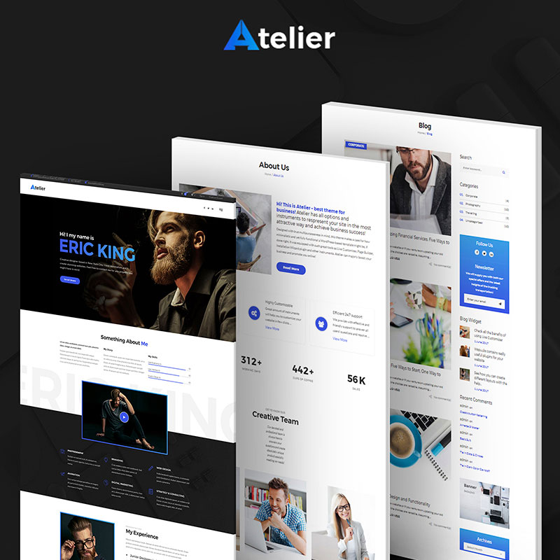 Atelier-Design-And-Photography-Template-WordPress-Theme