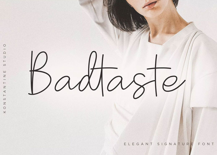 Free-Badtaste-Elegant-Handwriting-Signature-Font-Demo-2018