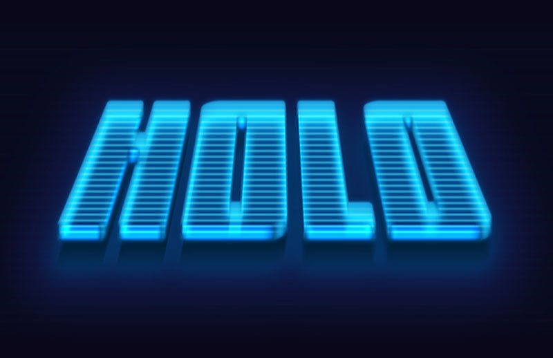 3D-Hologram-Text-Effect-Photoshop-Action