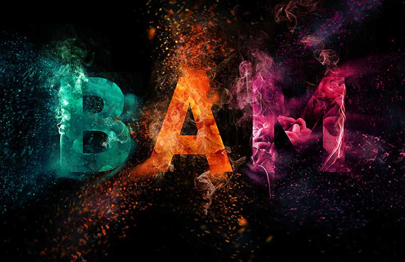 Colorful-Explosion-Text-Effect-in-Adobe-Photoshop