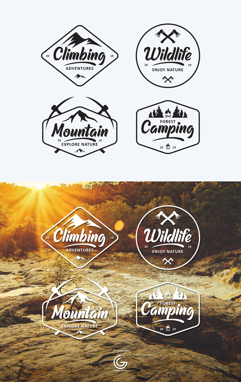 Free-Wild-Life-Emblems-Vector-Graphics