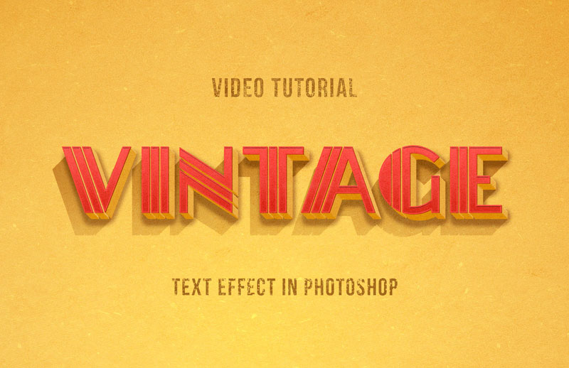 Vintage-Photoshop-Text-Effect-in-American-Style