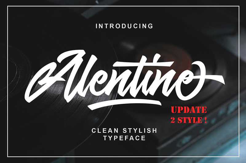 Alentino-Clean-Typeface