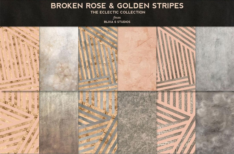 Broken-Rose-&-Gloden-Stripes