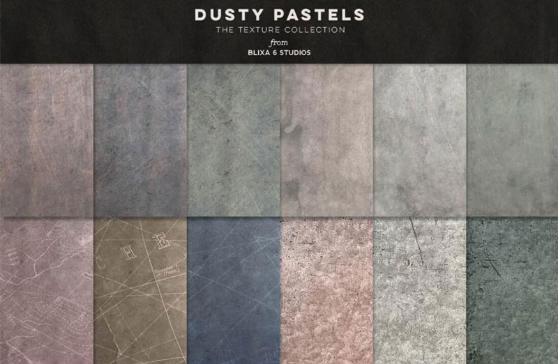 Dusty-Pastels