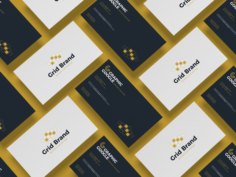 Free-Grid-Brand-Business-Card-Mockup-1