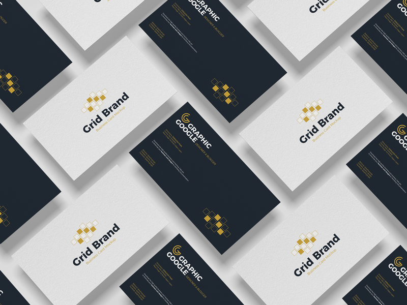 Free-Grid-Brand-Business-Card-Mockup-2
