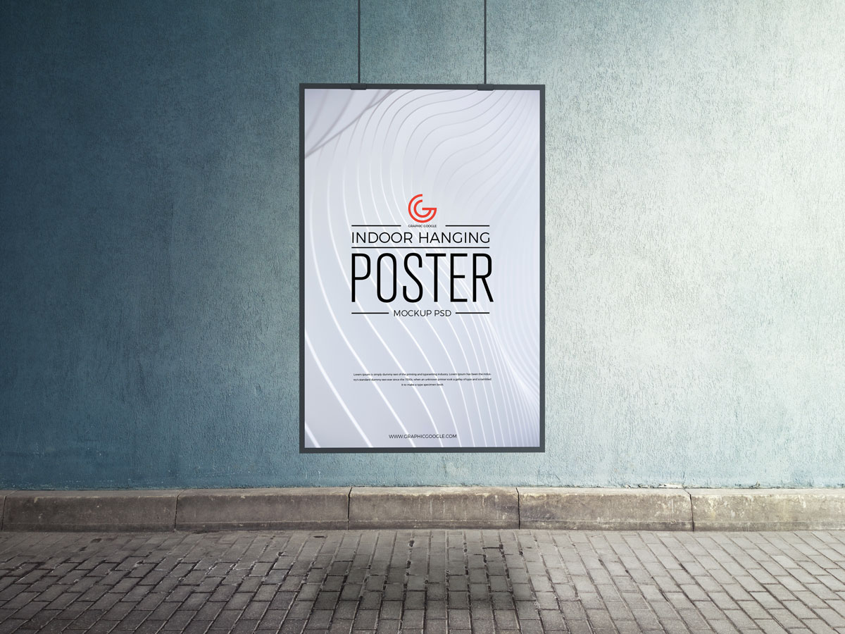 Free-Indoor-Hanging-Poster-Mockup-PSD