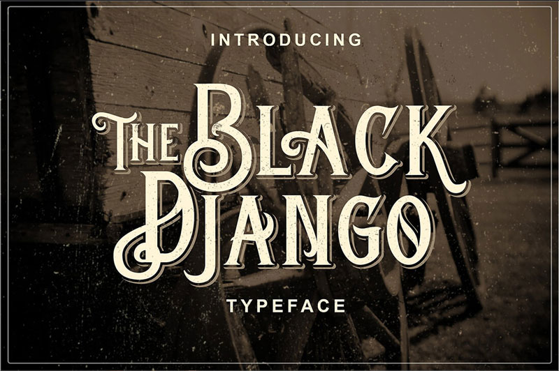 The-BlackDjango-Typeface