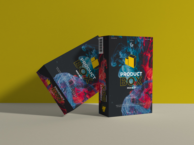 Free-Product-Box-Mockup-For-Packaging