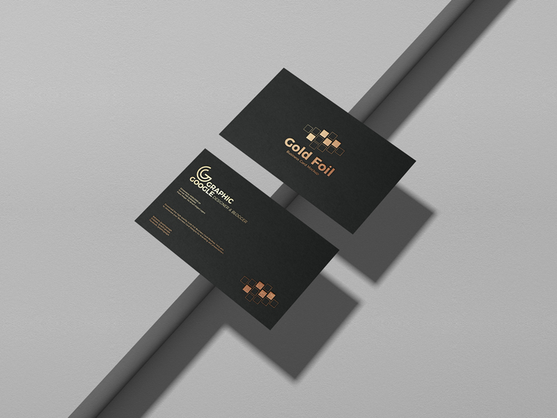 Gold-Foil-Business-Card-Mockup-PSD-Vol-2