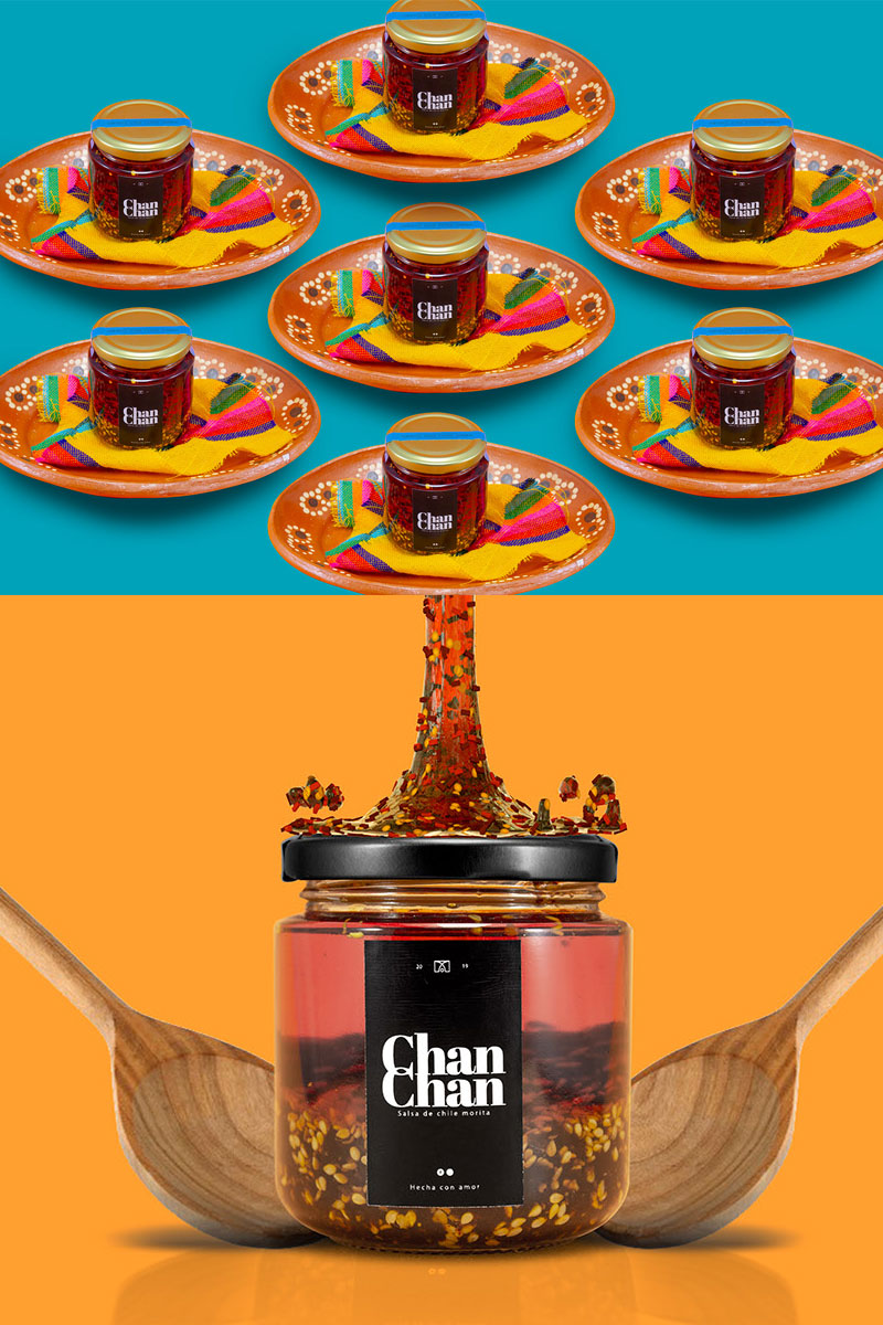 Hot-Sauce-Flat-Creative-Packaging-Design-Concept