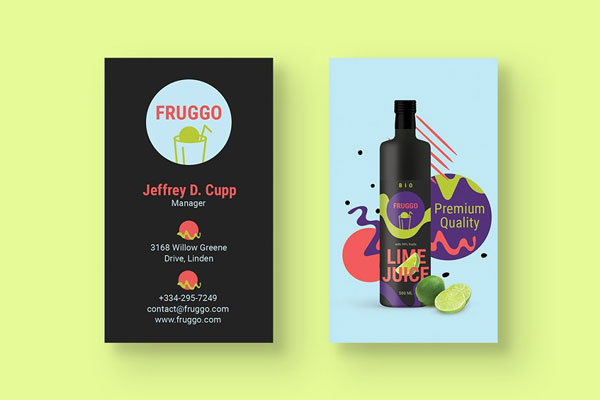 Juice-Producer-Business-Card