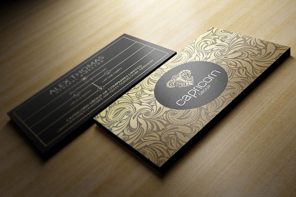 Modern-Gold-And-Black-Business-Card