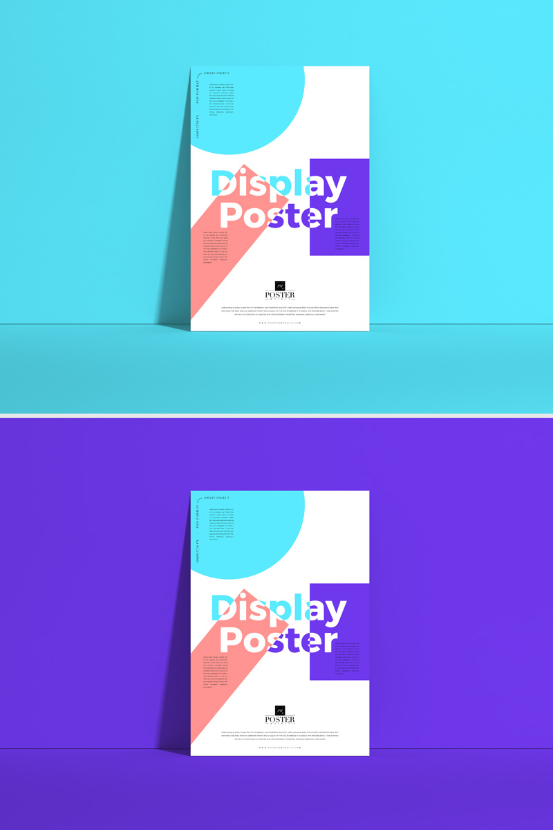 Free-Front-View-Poster-Mockup