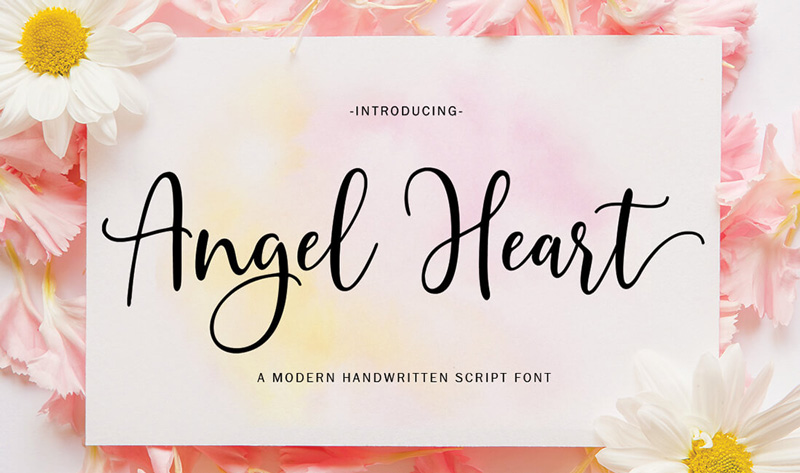 Angel-Heart-Handwritten-Font