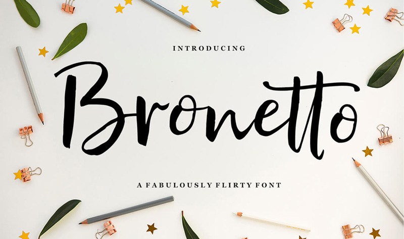 Bronetto-Lovely-Font
