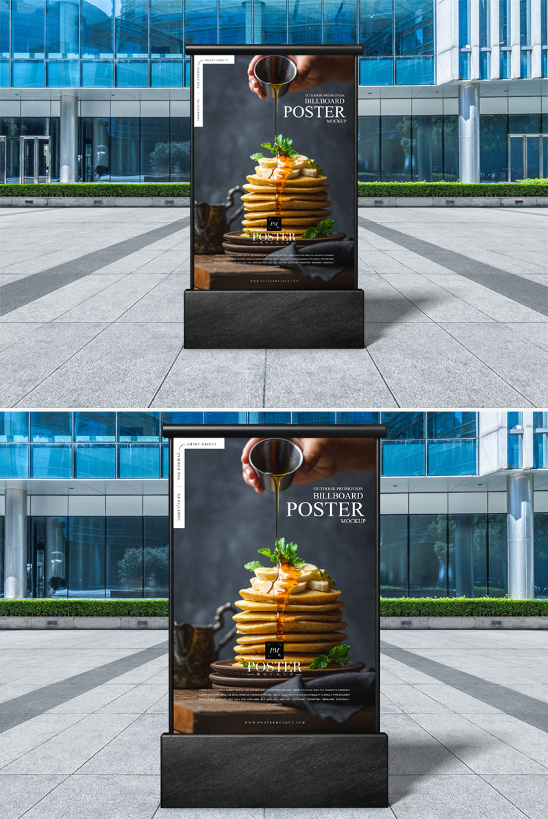 Free-Outdoor-Advertisement-Billboard-Poster-Mockup-PSD