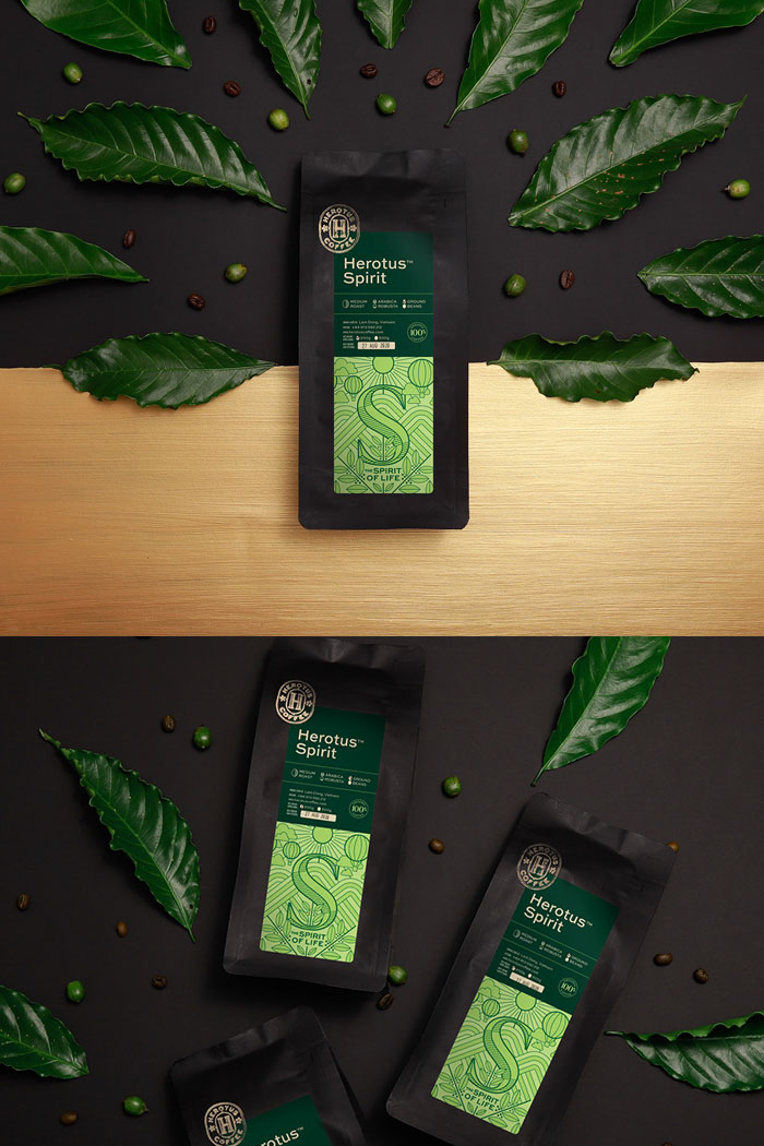 Coffee-Brand-Paper-Bag-Packaging-Design