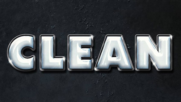 Create-a-Clean,-Glossy-Plastic-Text-Effect-in-Adobe-Photoshop