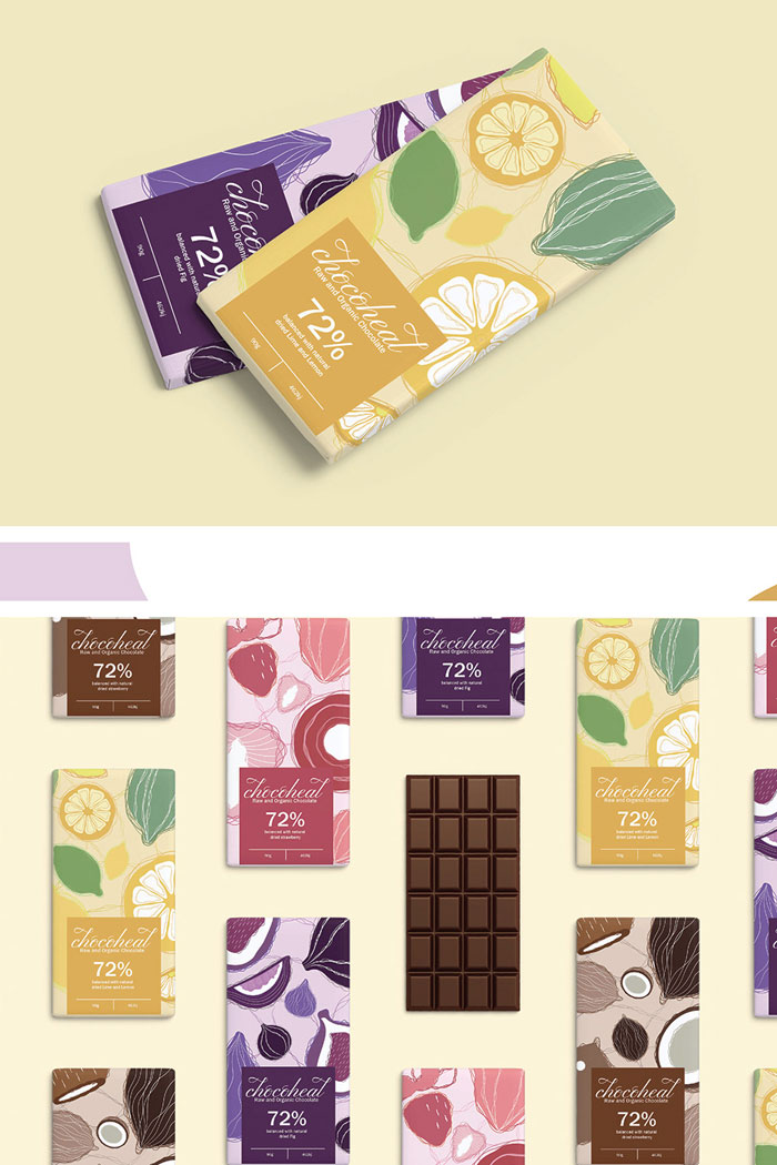 Creative-Organic-Chocolate-Packaging-Design