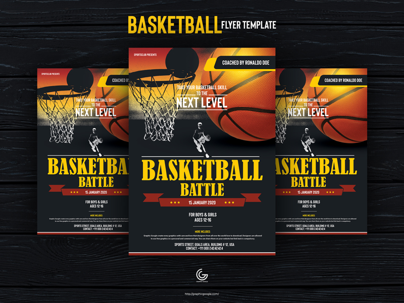 Free-Basketball-Flyer-Design-Template-For-2020