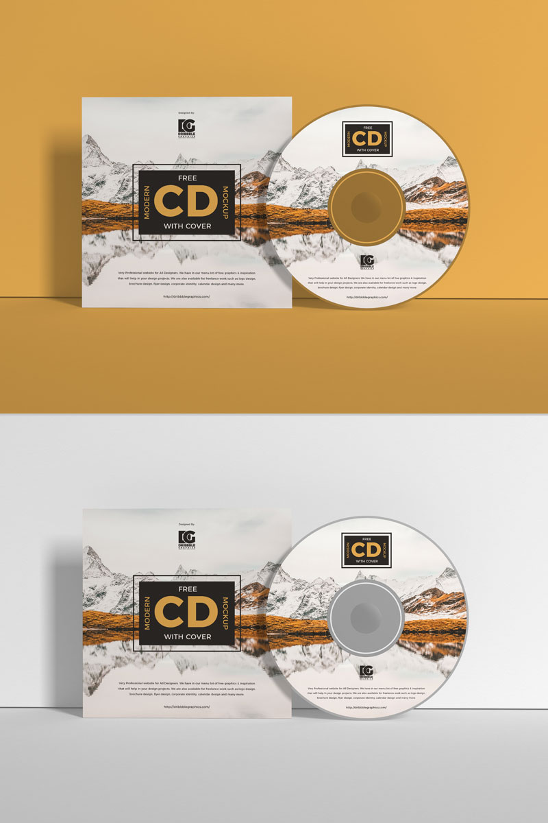 Free-Modern-CD-With-Cover-Mockup