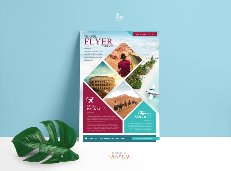 Free-Modern-Travel-Flyer-Template
