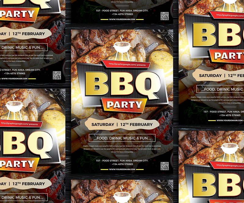 Free-Modern-BBQ-Party-Flyer-Template-600