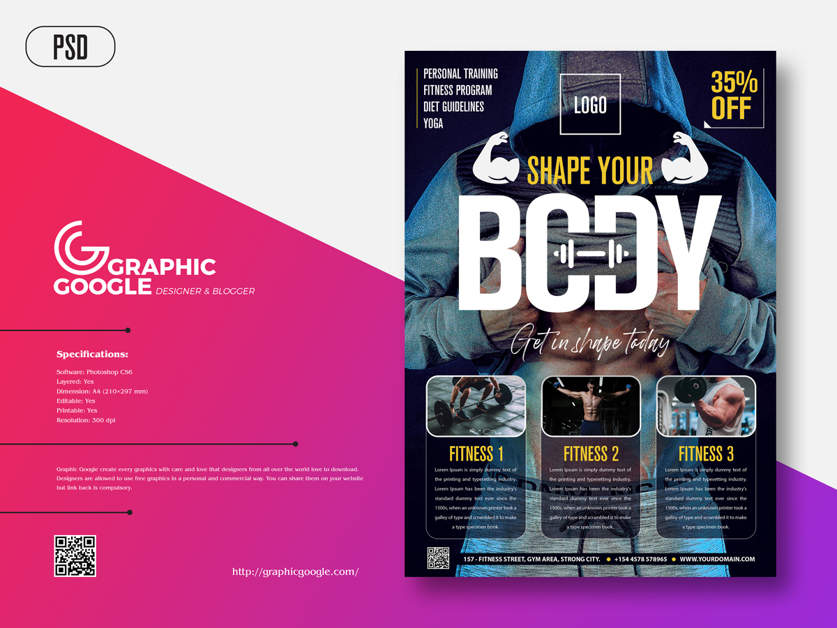 Free-Modern-Fitness-Flyer-Template