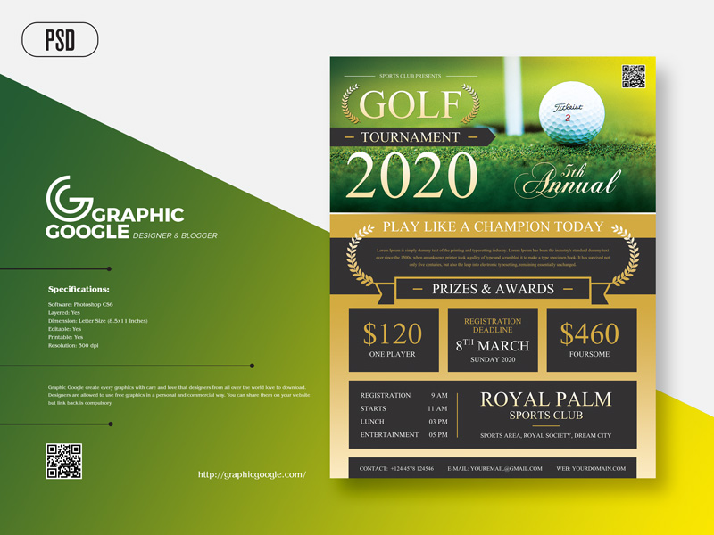 Free-Modern-Golf-Tournament-Flyer-Template