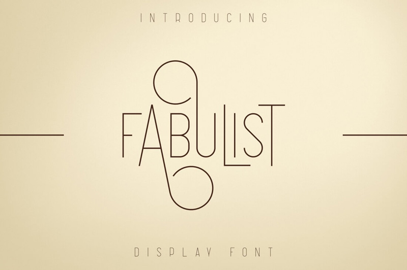 Fabulist-Display-Font