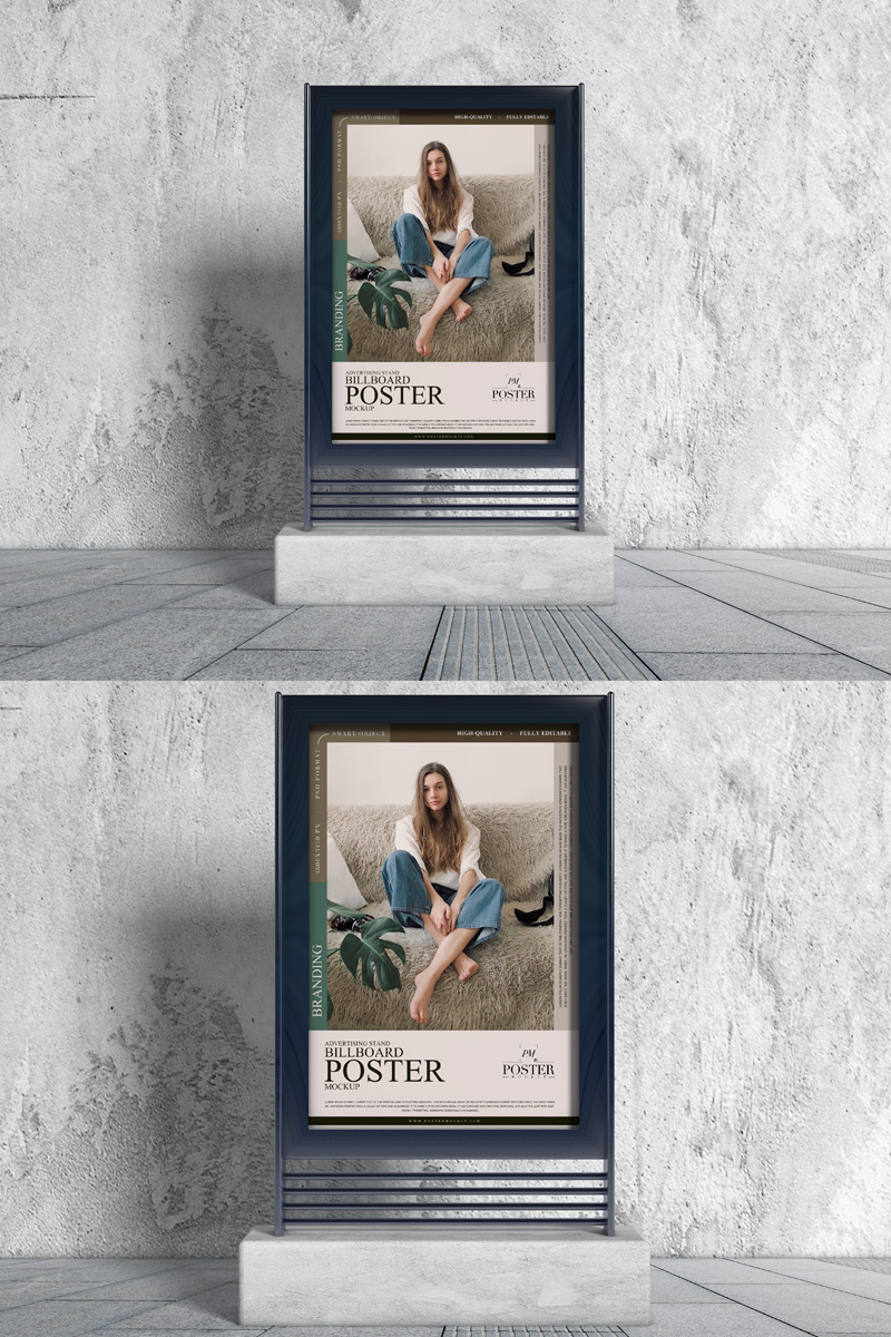 Free-Concrete-Environment-Stand-Poster-Mockup