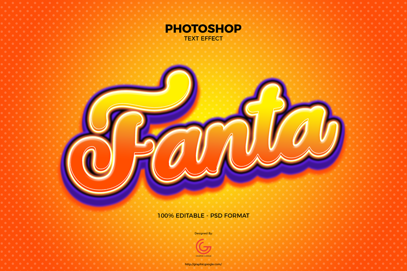 Free-Fanta-Text-Effect-PSD